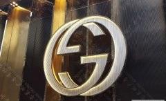 古驰(gucci)品牌发光字标识制作