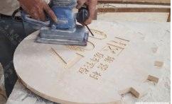 景区木质标识牌制作